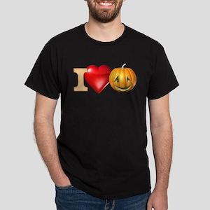 I Love Pumpkins Dark T-Shirt