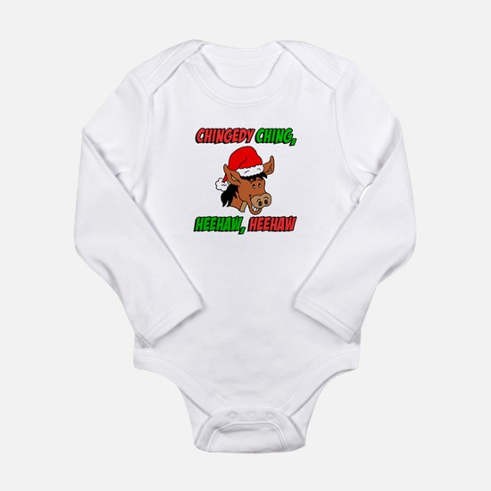 Italian Christmas Donkey Body Suit