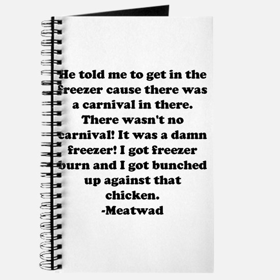 Cool Meatwad Journal