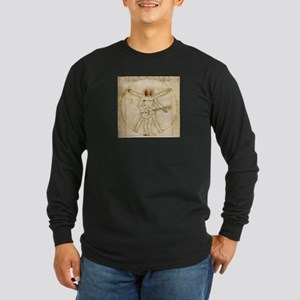 The Vitruvian Rock God Range Long Sleeve T-Shirt