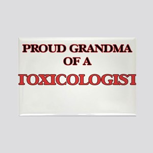 Proud Grandma of a Toxicologist Magnets