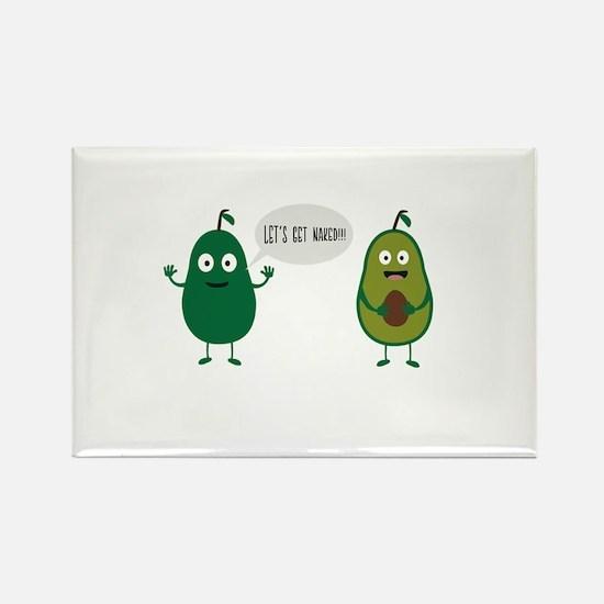 crazy avocado undresses Magnets