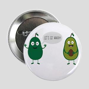 """crazy avocado undresses 2.25"""" Button"""