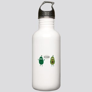 crazy avocado undresse Stainless Water Bottle 1.0L