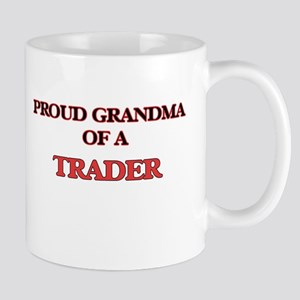 Proud Grandma of a Trader Mugs