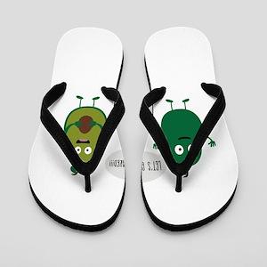 crazy avocado undresses Flip Flops