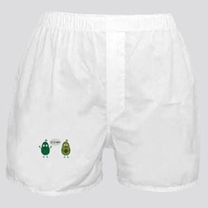 crazy avocado undresses Boxer Shorts