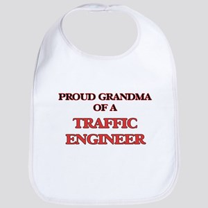 Proud Grandma of a Traffic Engineer Bib