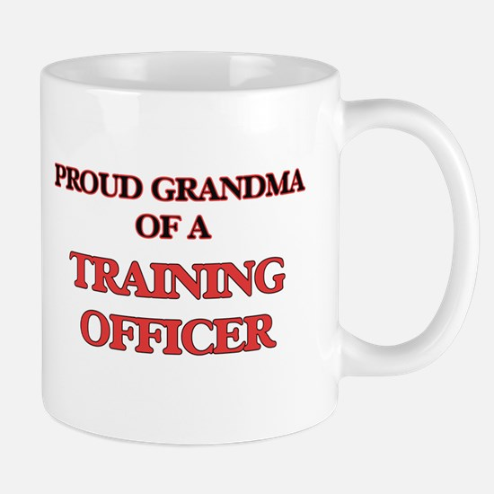 Proud Grandma of a Training Officer Mugs