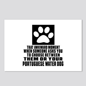 Portuguese Water Dog Awkw Postcards (Package of 8)
