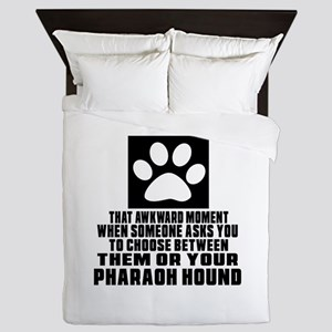 Pharaoh Hound Awkward Dog Designs Queen Duvet
