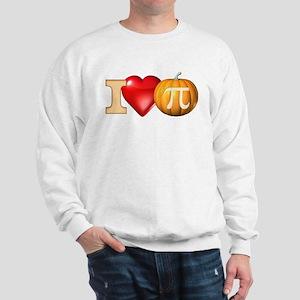 I Love Pumpkin Pi Sweatshirt
