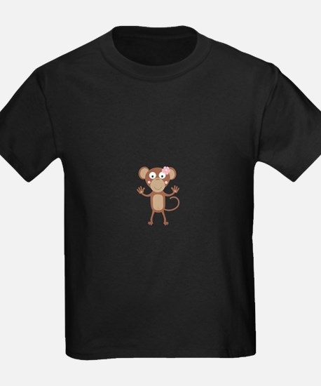 female monkey with flower T-Shirt