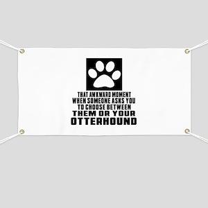 Otterhound Awkward Dog Designs Banner