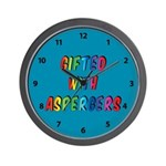 Gifted With Aspergers Wall Clock