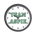 Team Aspie Wall Clock