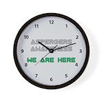 Aspergers Awareness Wall Clock