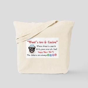 """Woof's Inn & Casino"" Tote Bag"