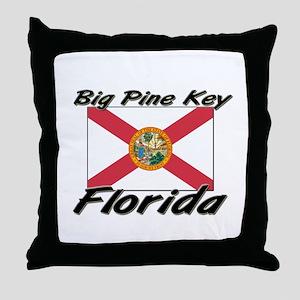 Big Pine Key Florida Throw Pillow
