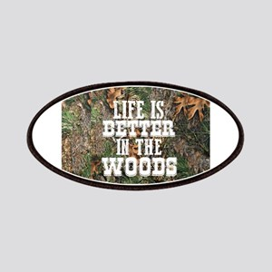 BETTER IN THE WOODS Patch