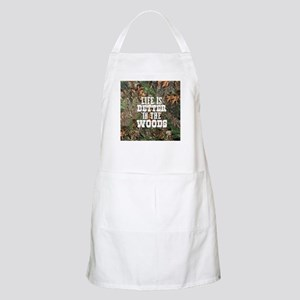 BETTER IN THE WOODS Light Apron