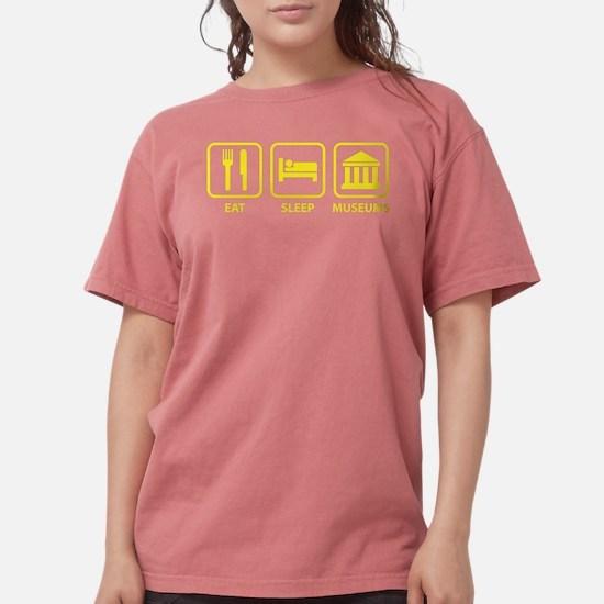 Eat Sleep Museums Women's Dark T-Shirt