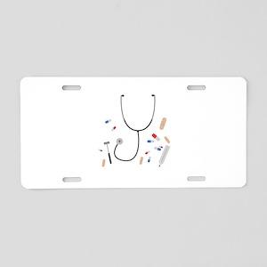 doctors equipment Aluminum License Plate