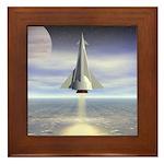 Rocket Launch Framed Tile