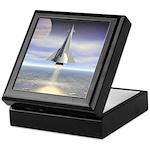 Rocket Launch Keepsake Box