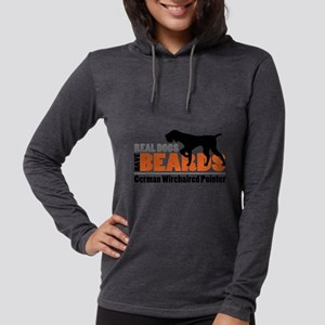 Real Dogs Have Beards - GWP Long Sleeve T-Shirt