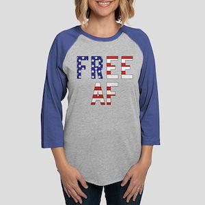 Free AF Womens Baseball Tee