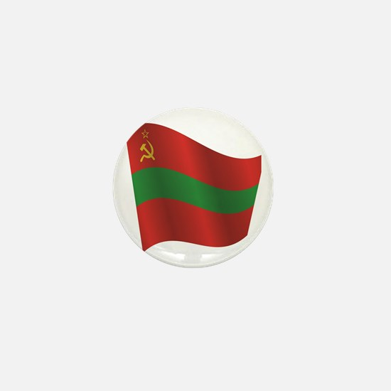 Cute National flags Mini Button