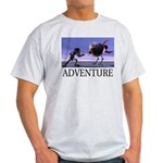 Adventure Ash Grey T-Shirt