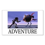 Adventure Rectangle Sticker