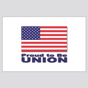 Proud to be Union Large Poster