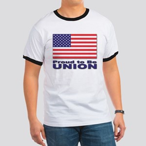 Proud to be Union Ringer T