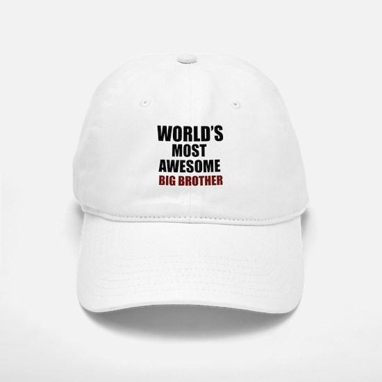 World's Most Awesome Big Brother Baseball Baseball Cap