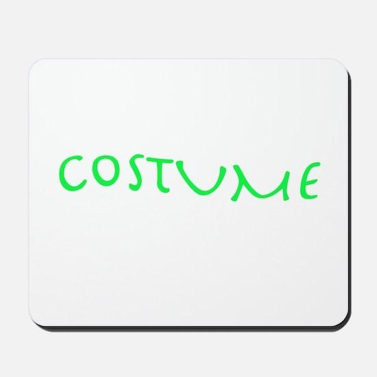 costume green Mousepad
