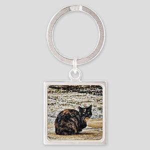 Tortoiseshell Cat Keychains