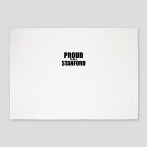 Proud to be STANFORD 5'x7'Area Rug
