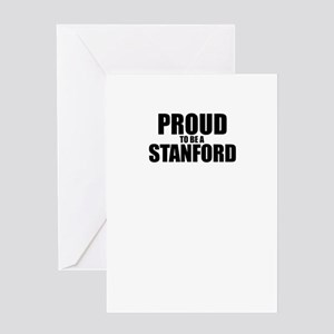 Proud to be STANFORD Greeting Cards