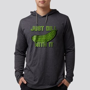 Just Dill With It Mens Hooded Shirt