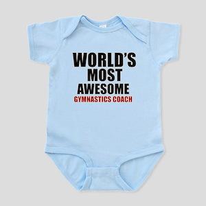 World's Most Awesome Gymnastics Co Infant Bodysuit
