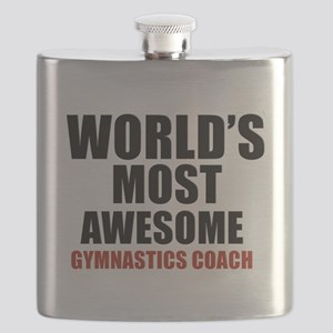 World's Most Awesome Gymnastics Coach Flask