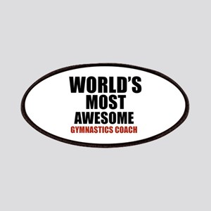 World's Most Awesome Gymnastics Coach Patch