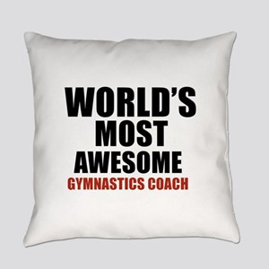 World's Most Awesome Gymnastics Co Everyday Pillow