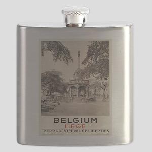 Vintage poster - Liege Flask