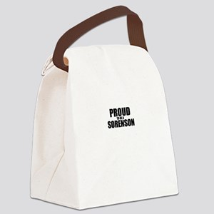 Proud to be SORENSON Canvas Lunch Bag