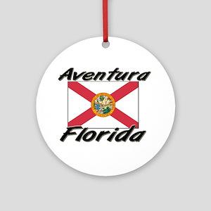 Aventura Florida Ornament (Round)