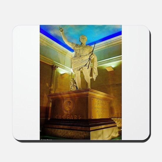 Caesar Augustus Statue Mousepad